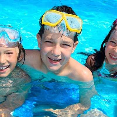 Complementos para natación y piscina