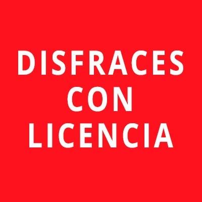 Disfraces con licencia
