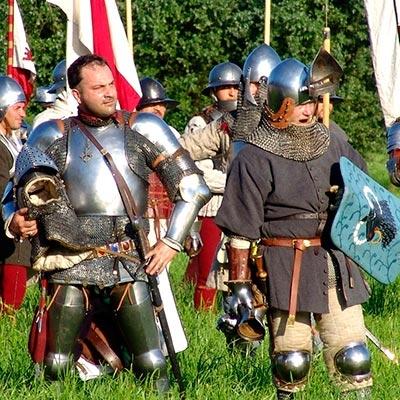 Guerreros, gladiadores, soldados y espadachines