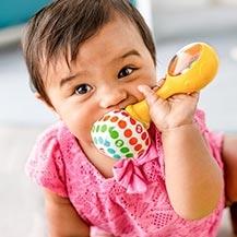 Juguetes para recién nacidos y mordedores