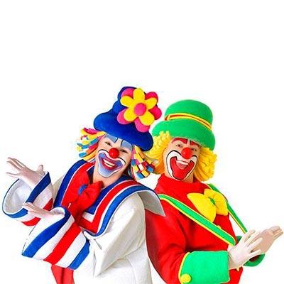 Payasos, circo, bufones y arlequines