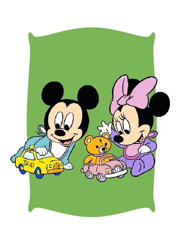 Juguetes de Mickey y Minnie