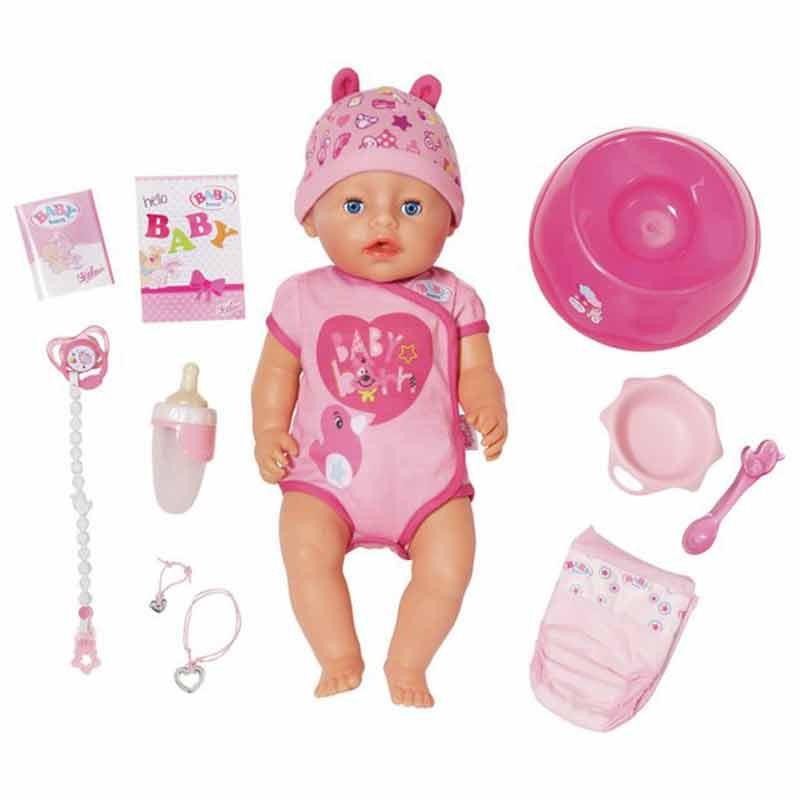 Baby Born Muñeco bebé Interactivo Niña