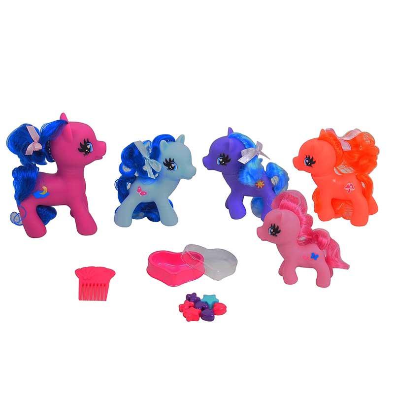 Pack de 6 ponies