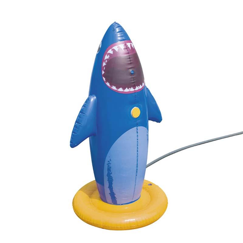 Tiburón boxer Spray inflable
