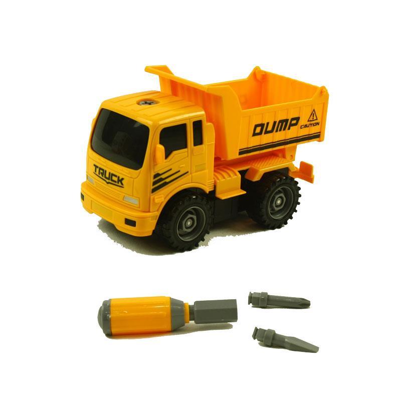 Camión de construcción con accesorios