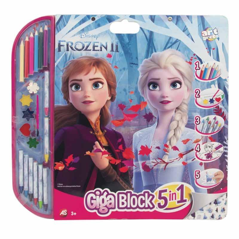 Set de dibujo Giga block Frozen