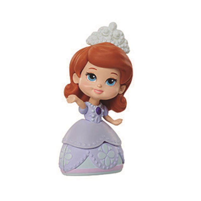 Mini princesa Sofía figura Sofía vestido lila