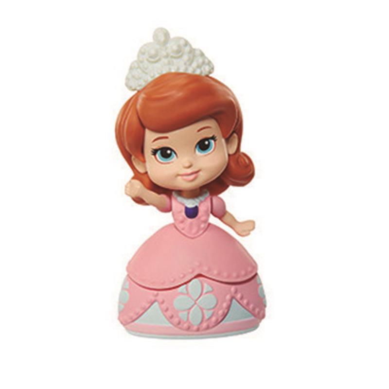 Mini princesa Sofía figura Sofía vestido rosa