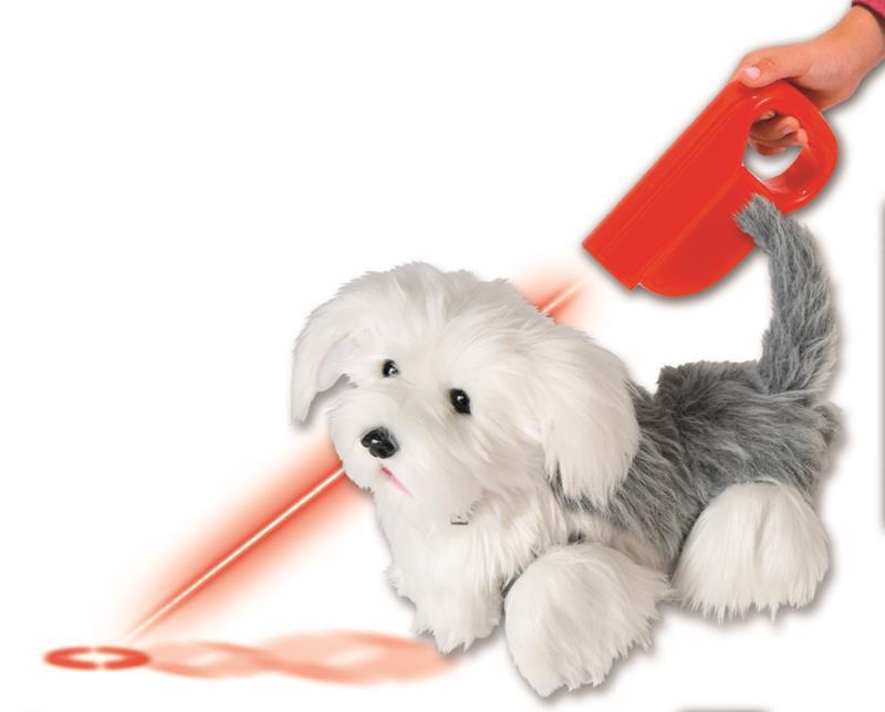 Peluche Interactivo Cheisy El Perro Laser