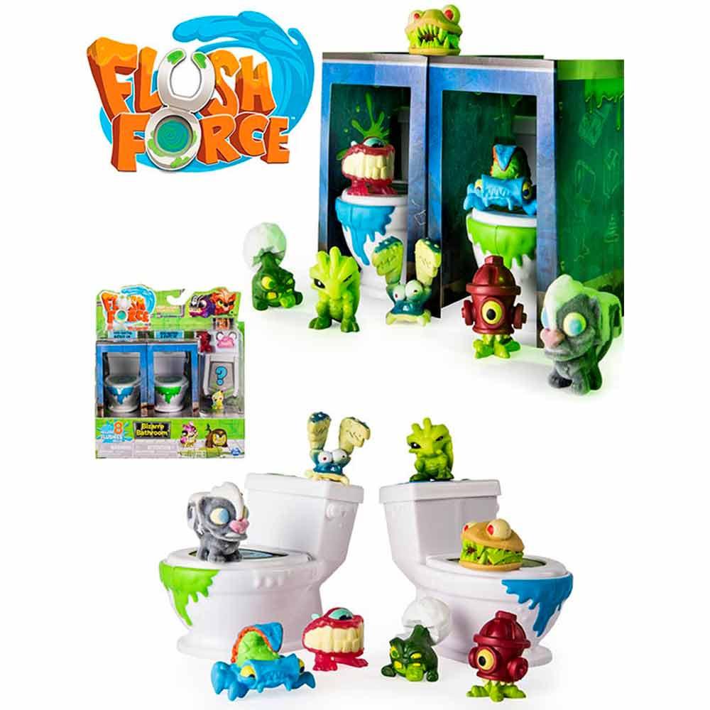 Flush Force váter extraño Bizarre Bathroom