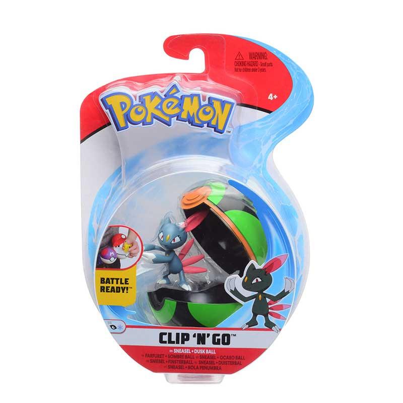 Pokemon Clip N´go Sneasel + Dusk ball