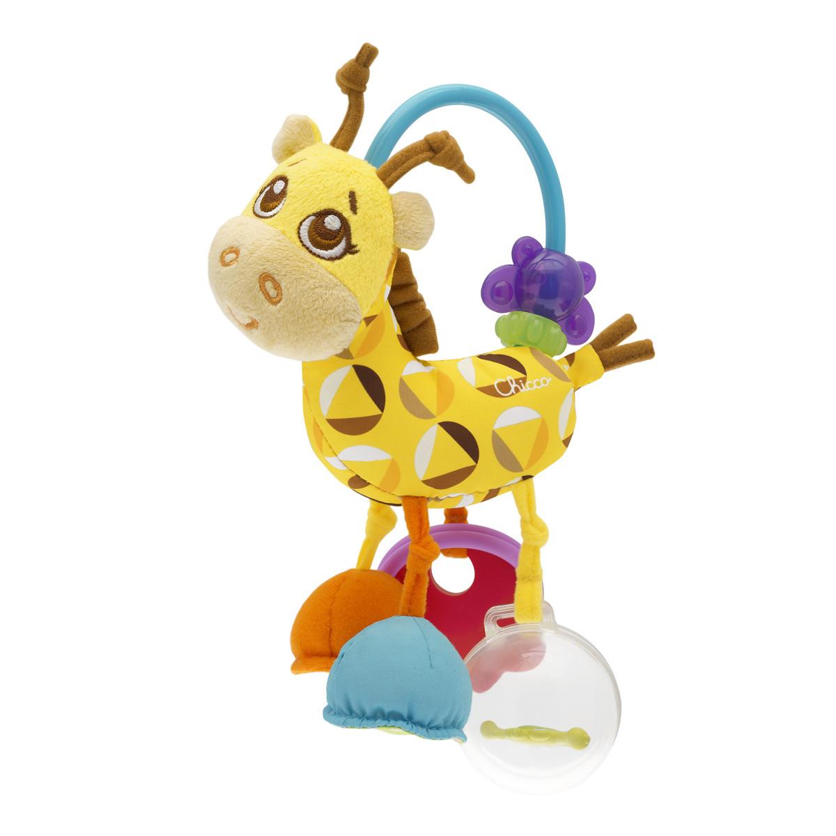 Chicco sonajero Mr Giraffe actividades