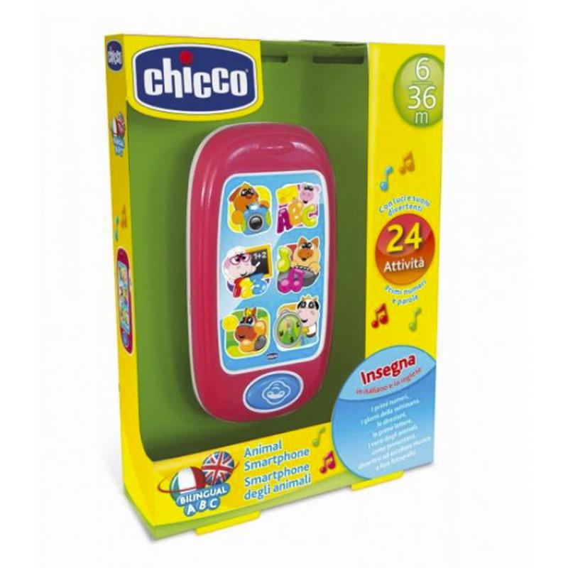 Chicco Smartphone interactivo bilingüe