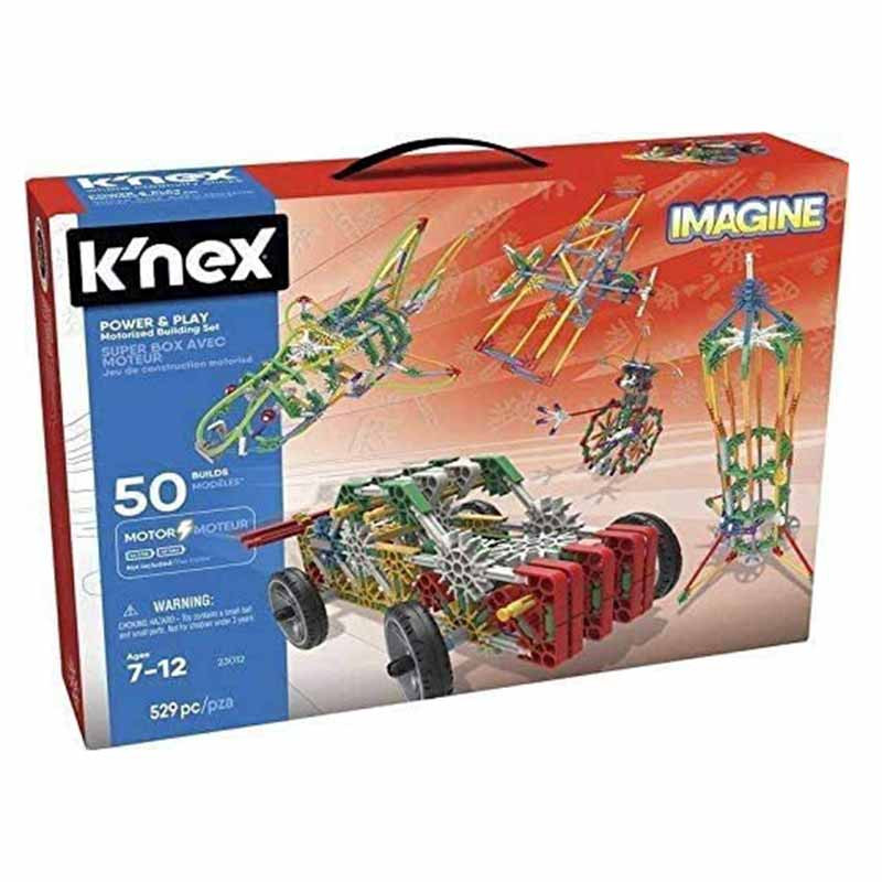 Knex Imagine mega maleta 50 modelos