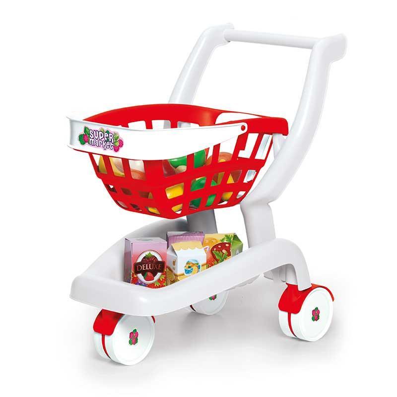 Carrito de supermercado infantil 2 en 1
