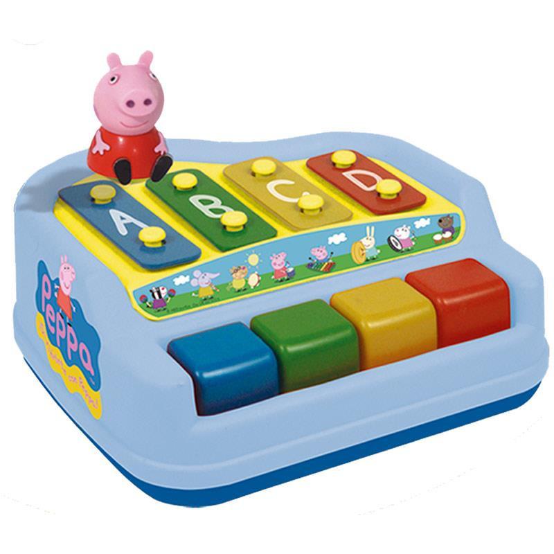 Xilófono piano de 4 notas Peppa Pig