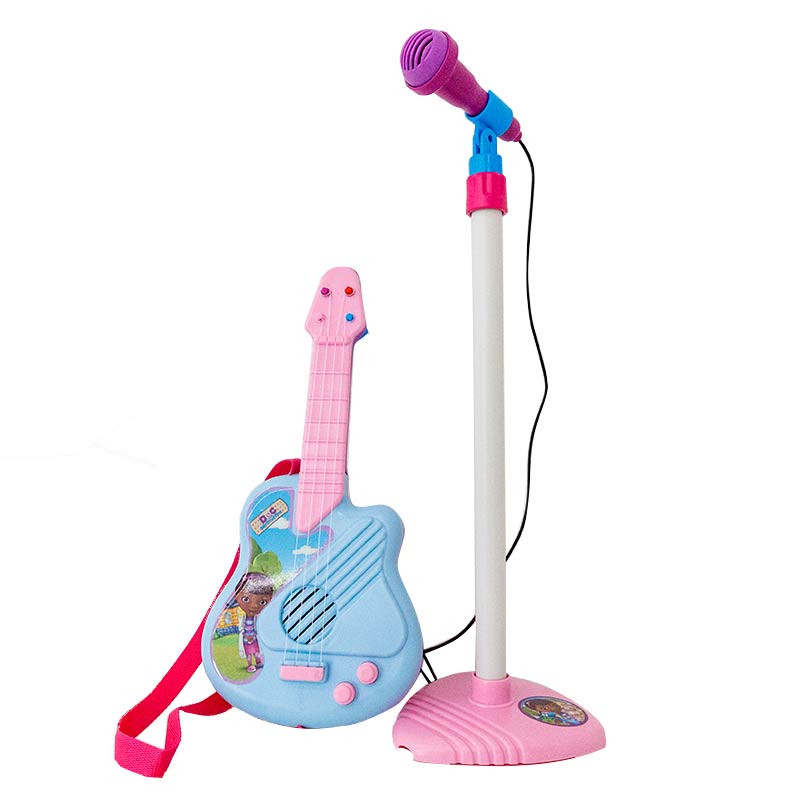 Conjunto de micro y guitarra Doctora Juguetes