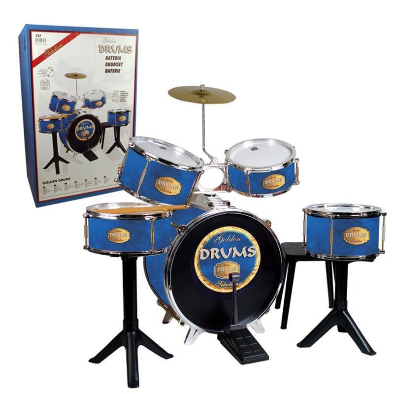 Batería Golden Drums