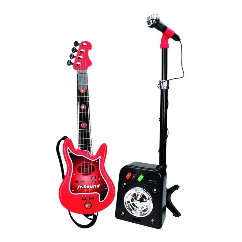 Conjunto Flash micro+bafle+guitarra