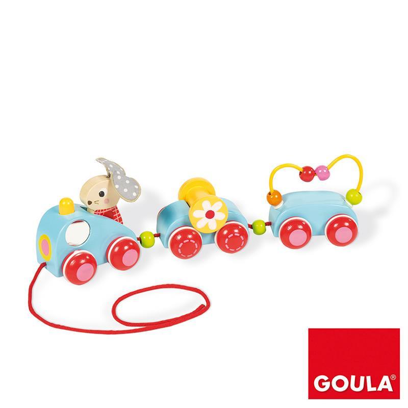 El tren de Bunny arrastrable