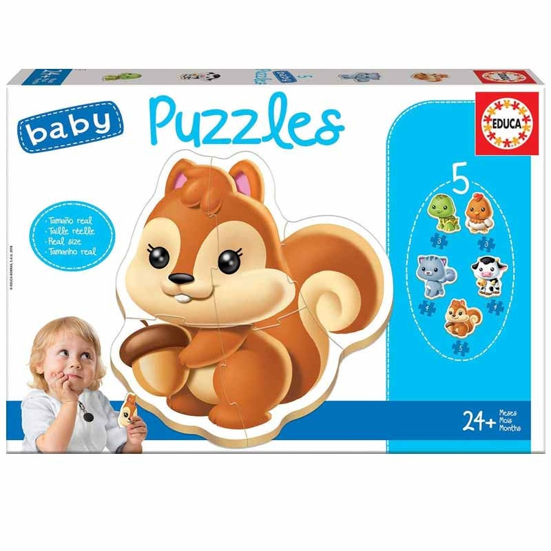 Baby Puzzle Animales