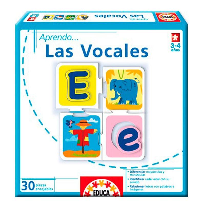 Educa aprendo Las vocales