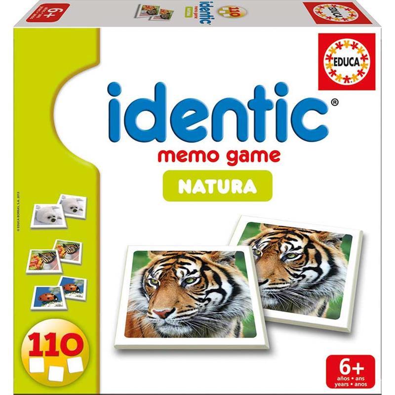 Educa juego de memoria identic natura
