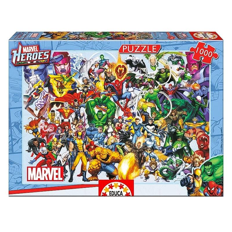Educa puzzle 1000 los héroes de Marvel