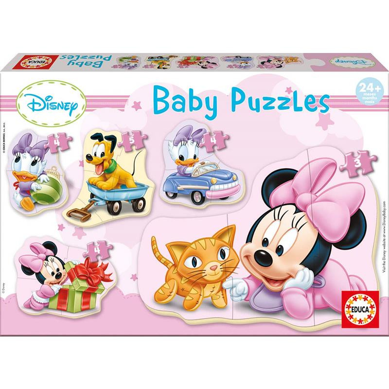 Educa 5 puzzle baby Minnie