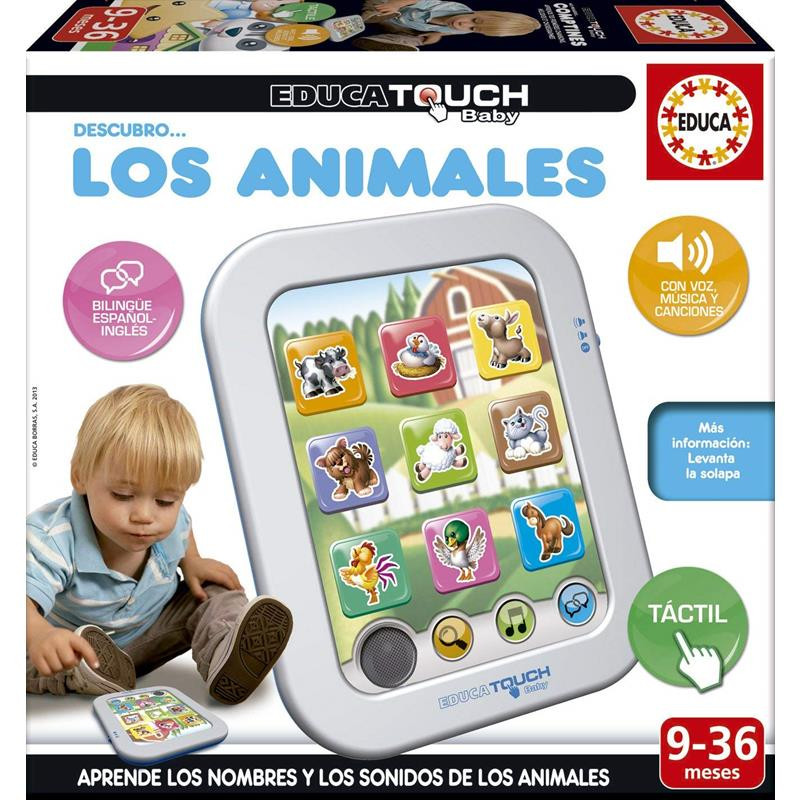 Educa touch baby descubro Los animales
