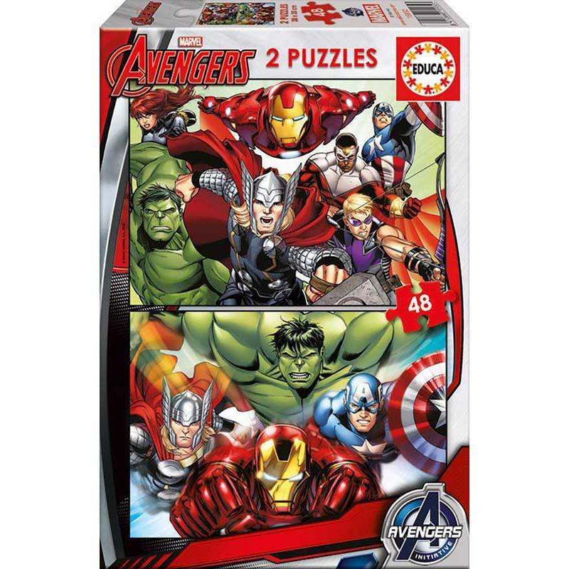 Educa puzzle 2x48 Avengers