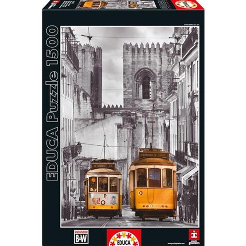 Educa puzzle 1500 barrio de la Alfama, Lisboa
