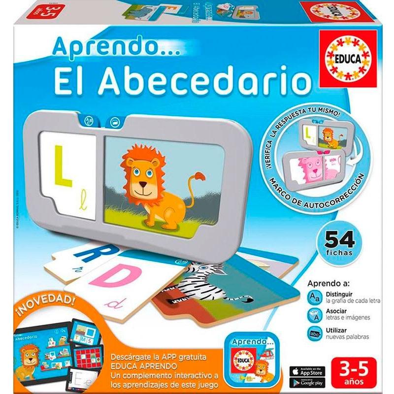 Educa aprendo El abecedario con app