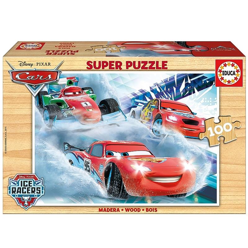 Educa puzzle madera 100 Cars