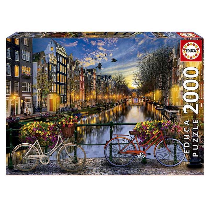 Educa puzzle 2000 amsterdam