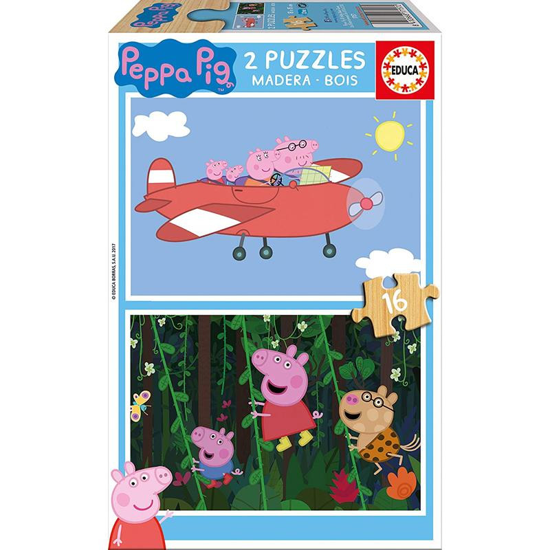 Puzzle 2x16 Peppa Pig