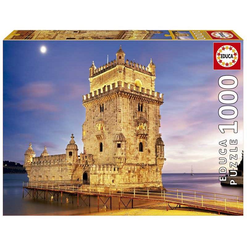 Educa puzzle 1000 torre de belém, Lisboa