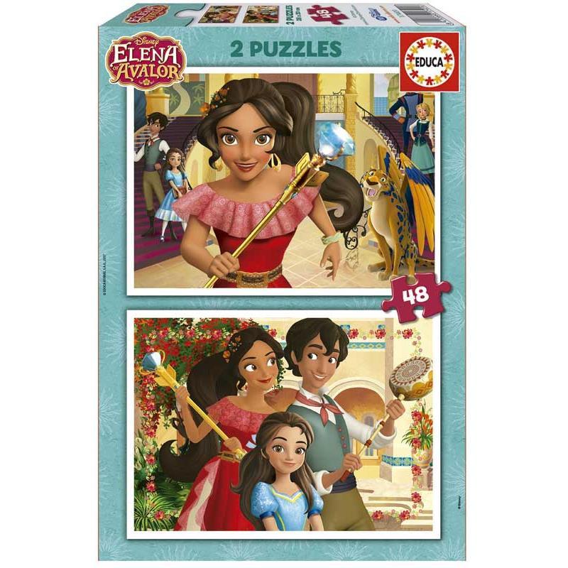 Educa puzzle 2x48 Elena de Avalor