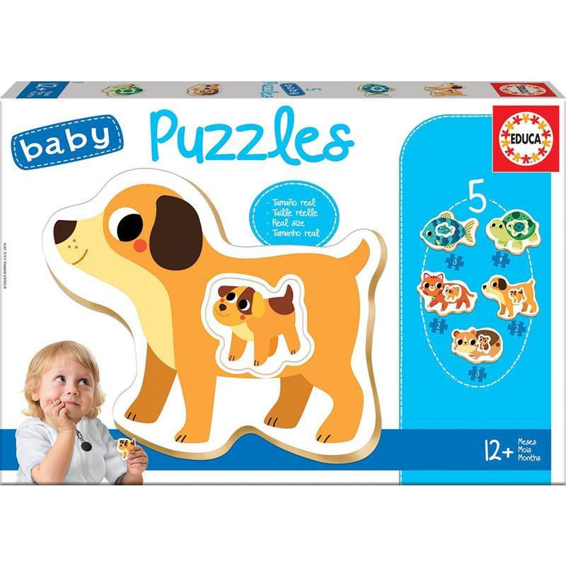 Educa Baby Puzzles animales