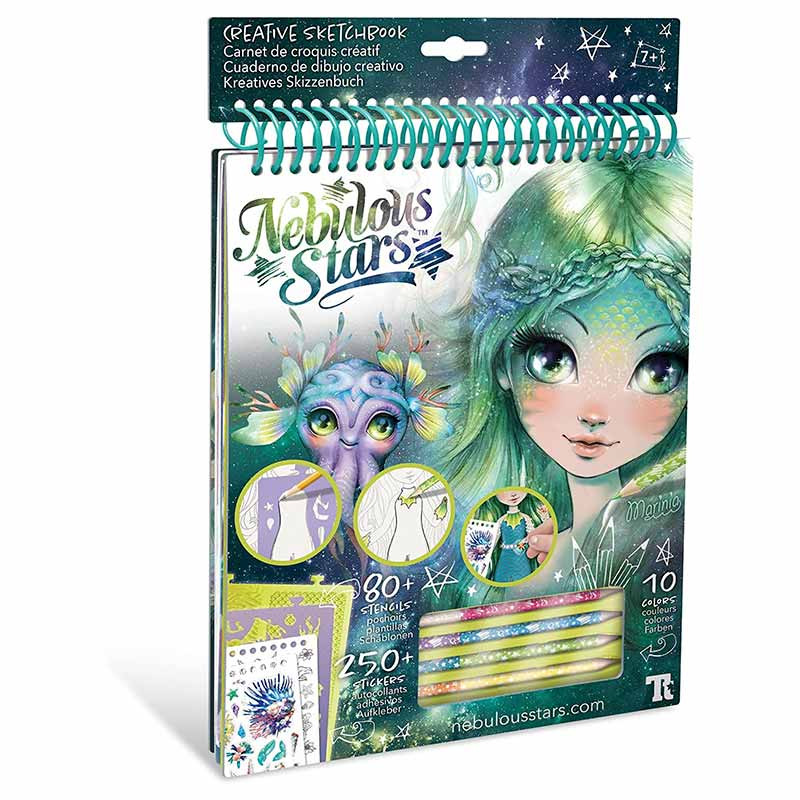 Educa Nebulous Stars cuaderno creativo Marinia
