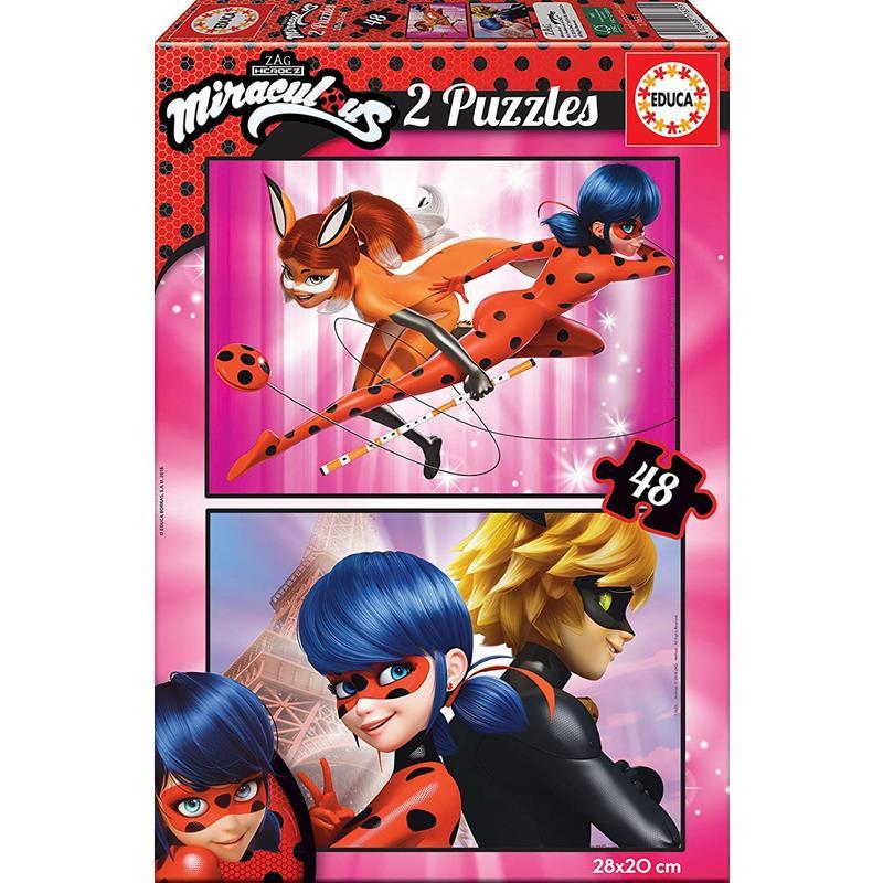 Educa puzzle 2x48 Ladybug