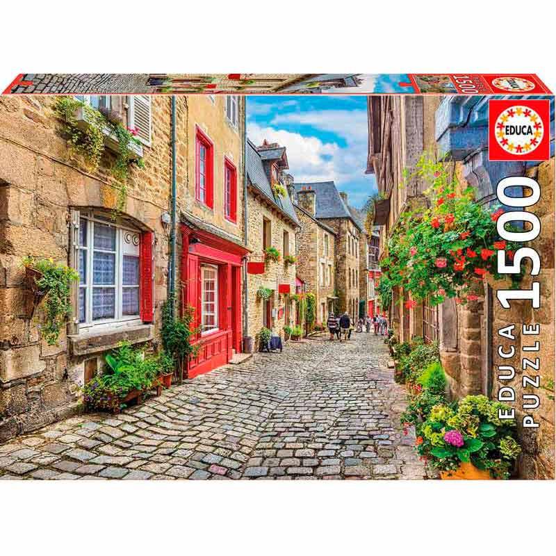Educa puzzle 1500 paseo entre flores
