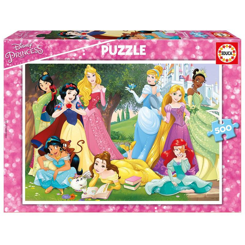 Educa puzzle 500 Princesas Disney