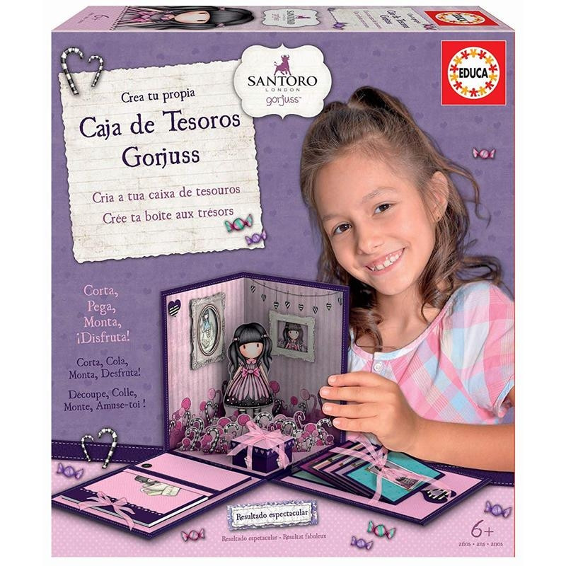 Set Educa crea tu caja de decoración Gorjuss