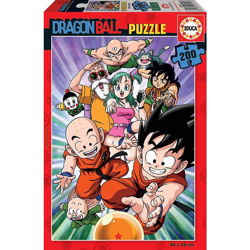 Educa Puzzle 200 Dragon Ball