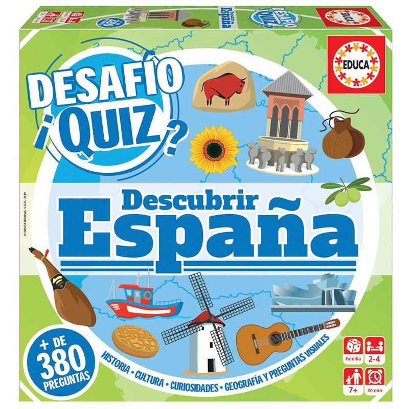 Educa Desafio Quiz descubrir España