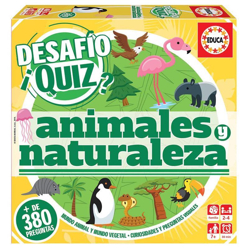 Educa Desafio Quiz animales y naturaleza