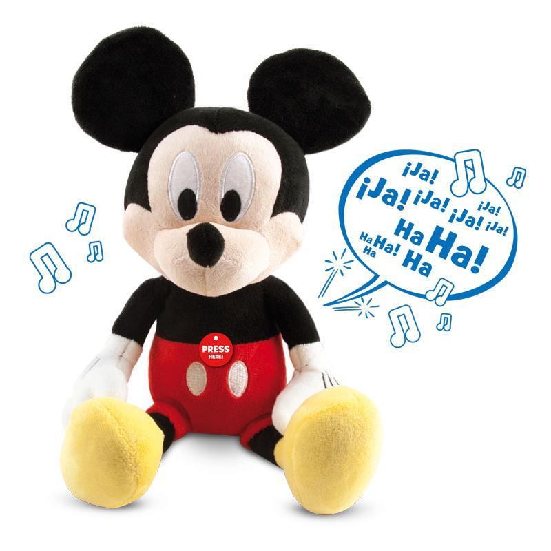 Peluche interactivo happy sounds Mickey