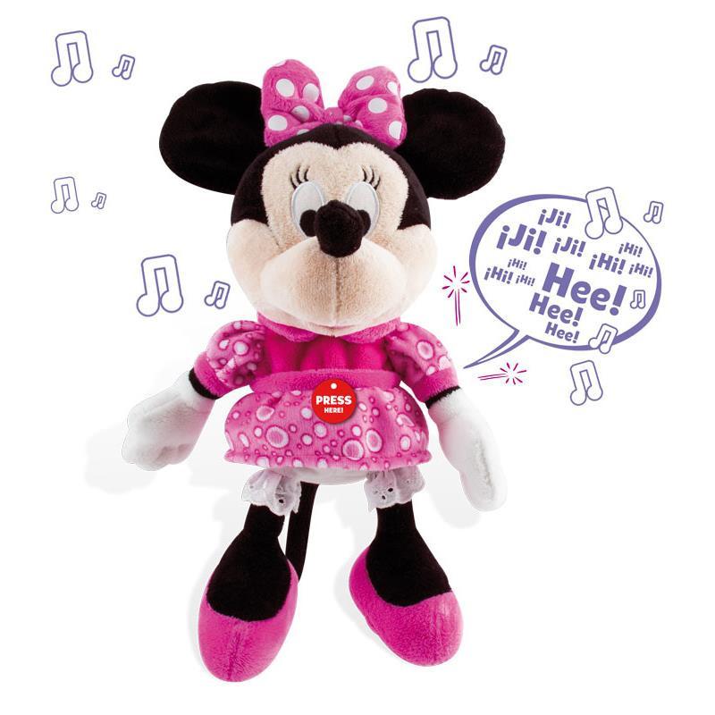Peluche interactivo happy sounds Minnie
